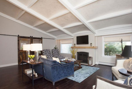 Coffered Ceilings on Property Brothers job