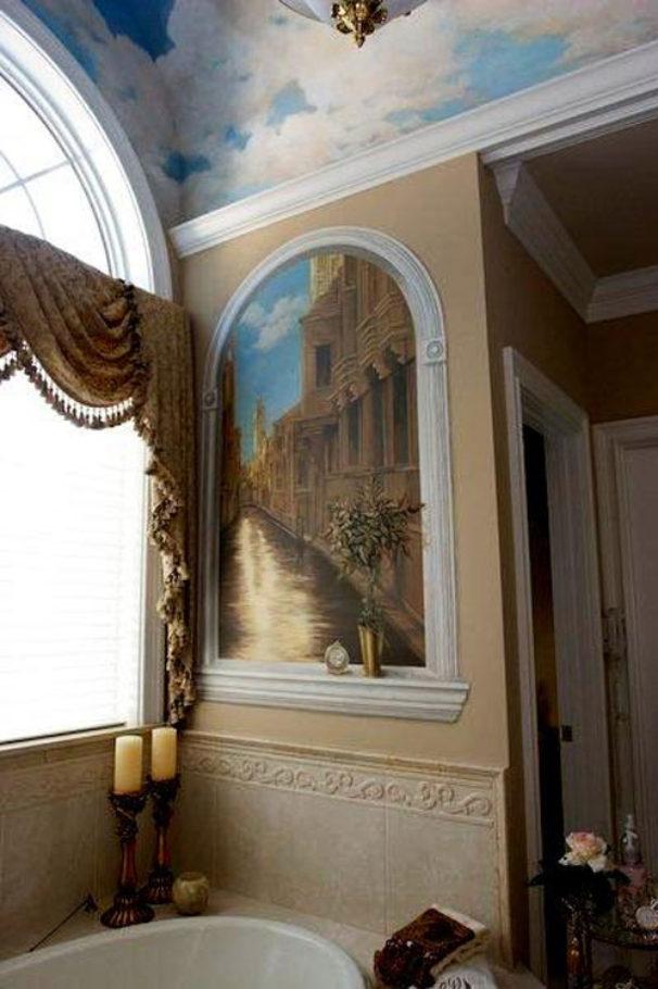 View inside the bathroom