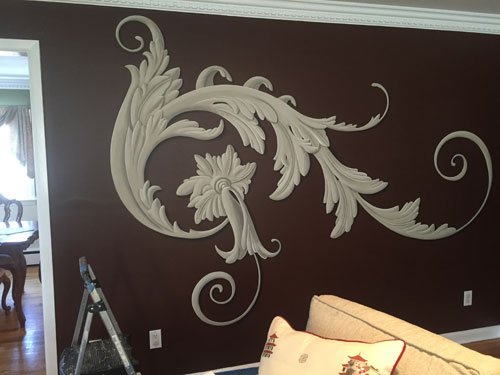 Finished Scrollwork