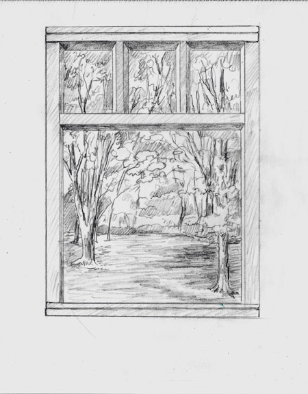 Sketch of view