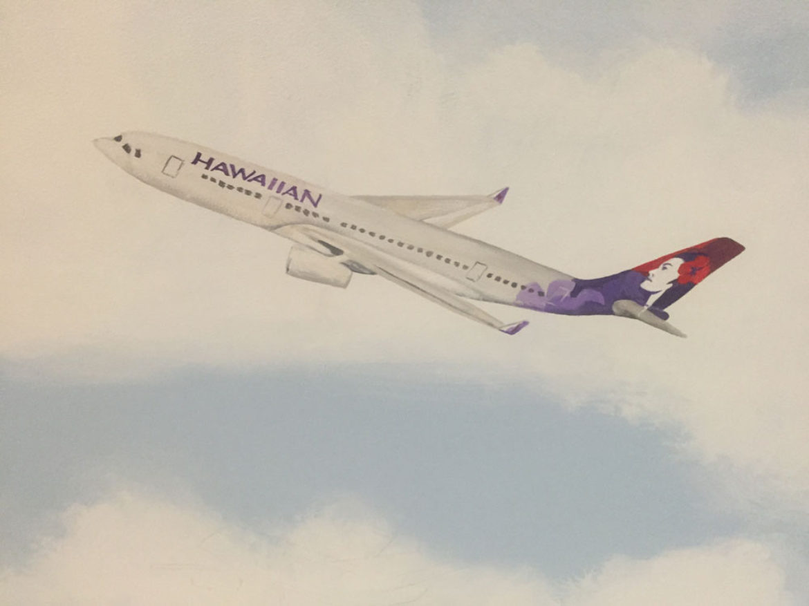 Hawaiian Airliner