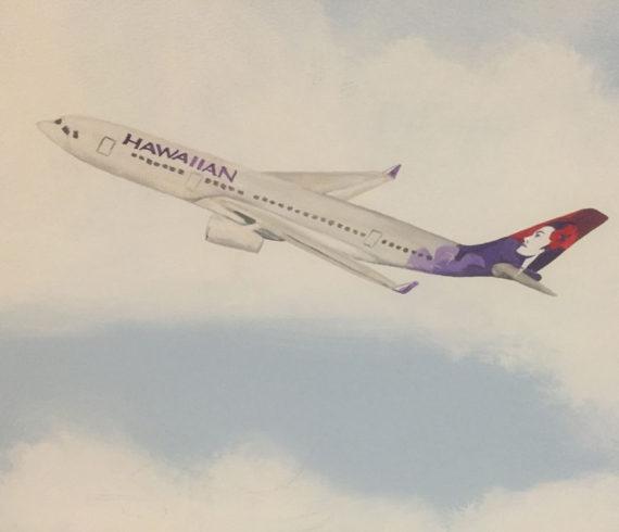 Hawaiian Airliner