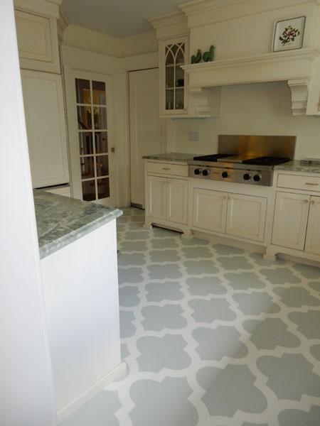 floor and countertops