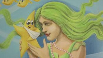 Mermaid Close Up
