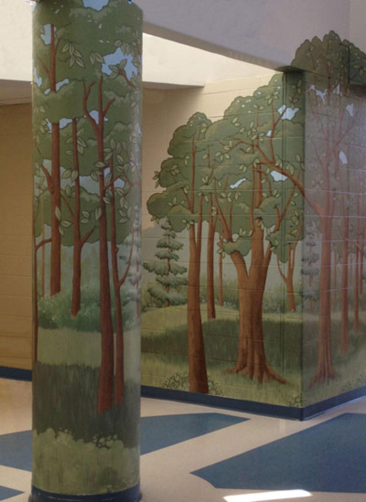 Finished Woods