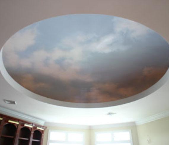 calm sky dome