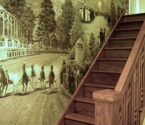 Stairwell Mural