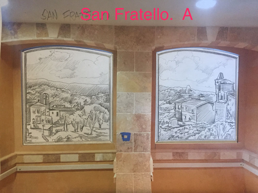 Sketch of San Fratello