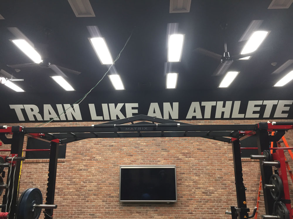 The Finished Sign - Train Like An Athlete