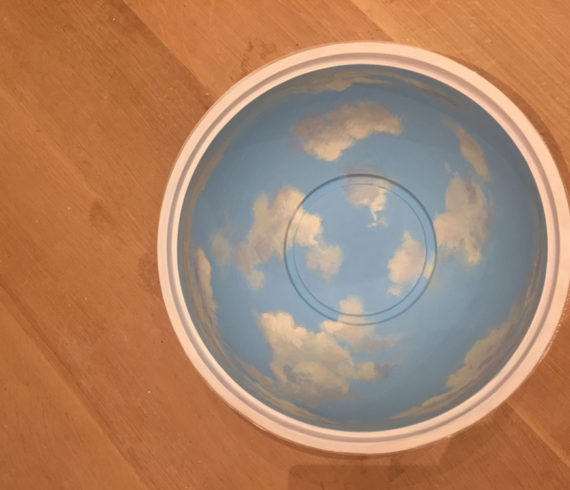Sample on bowl
