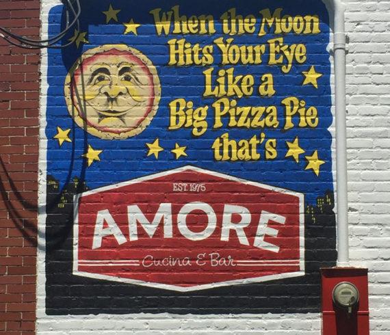 Amore Brick Mural