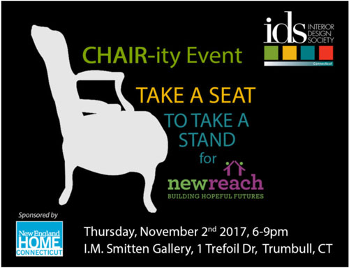Chair-ity Event Poster