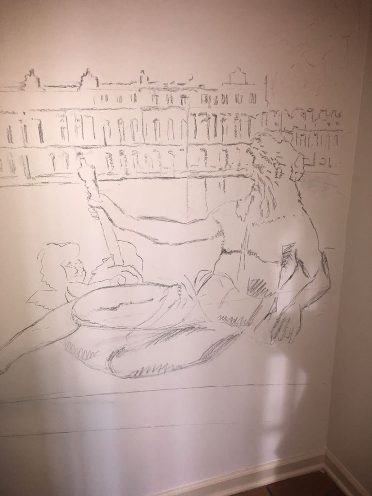 Poseidon sketch