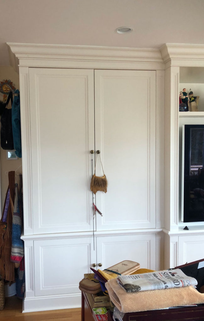 Before cabinet A