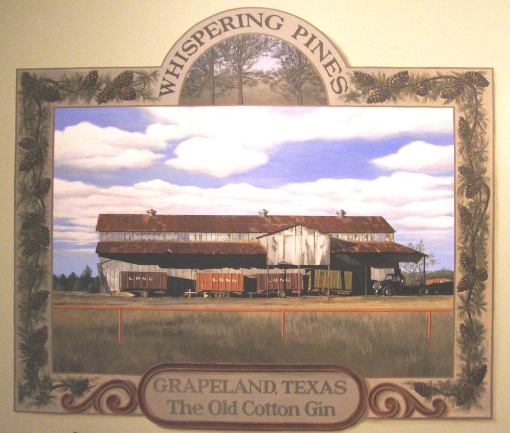 Grapeland Mural
