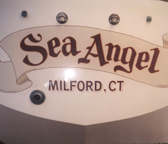 Sea Angel Name on Boat