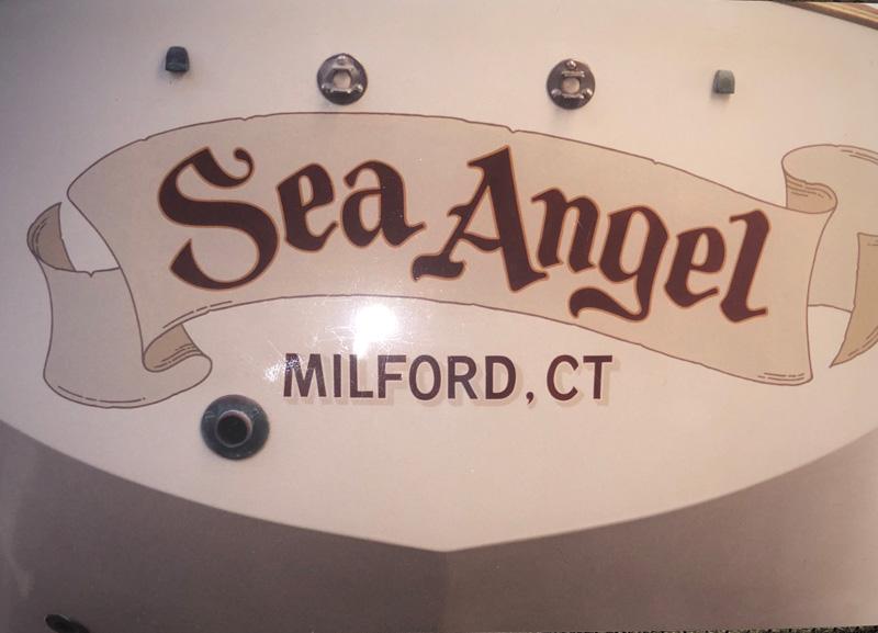 Sea Angel Name on Boat