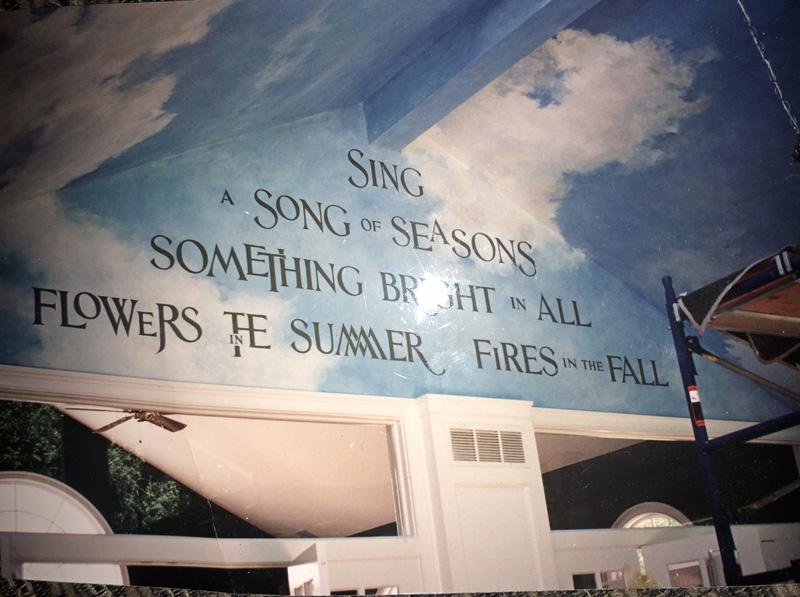 Words on murals