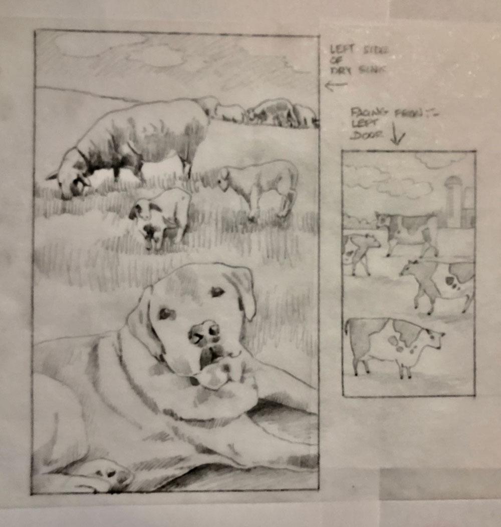 Original sketch A