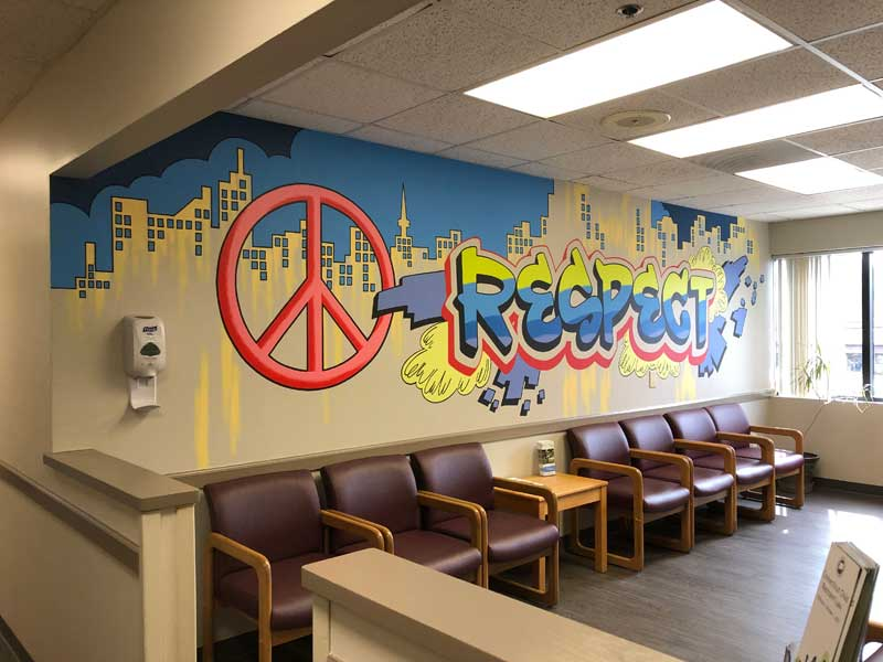 Grafitti wall done