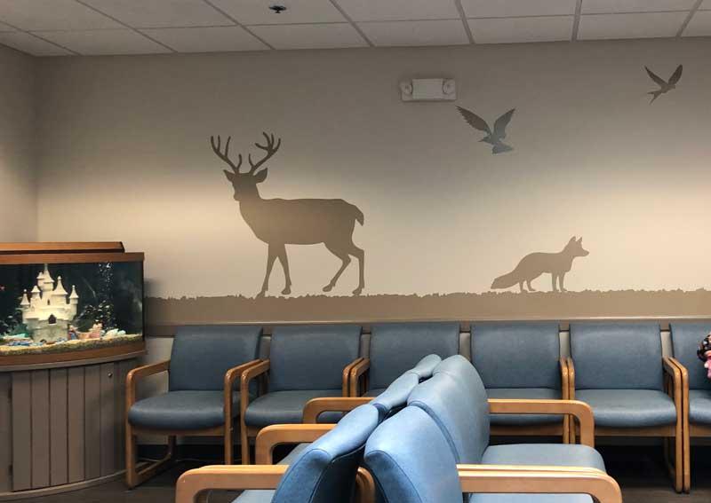 Waiting Room Decals