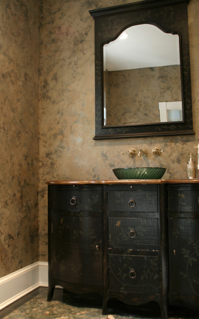 textured and smooth LusterStone provides depth of color