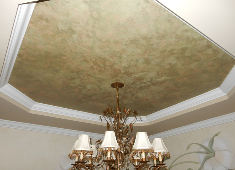 Lusterstone on the ceiling