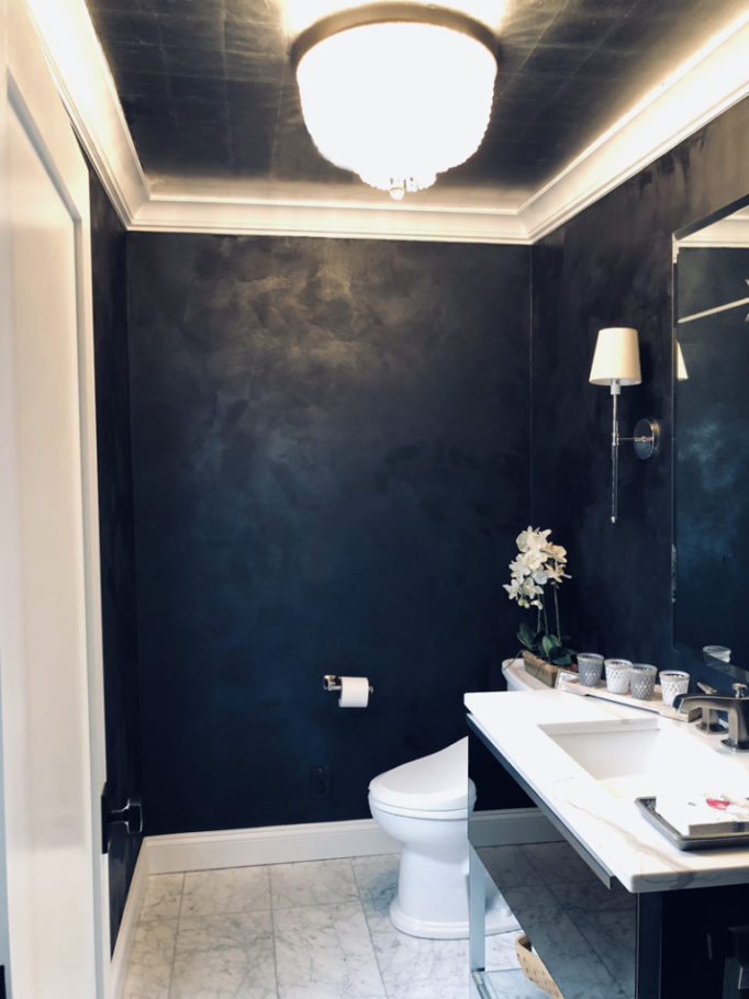 Inkwell powder room