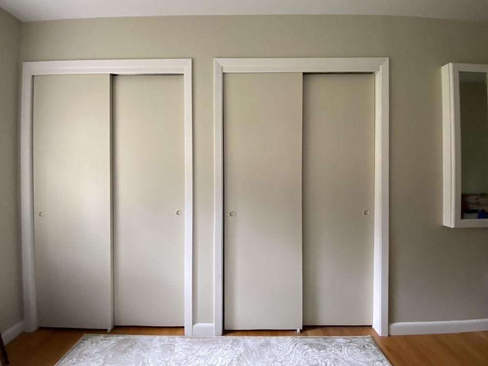 Closets before