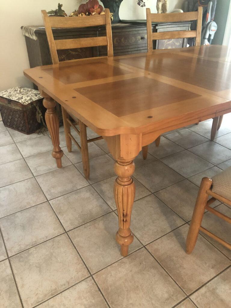 Original Table