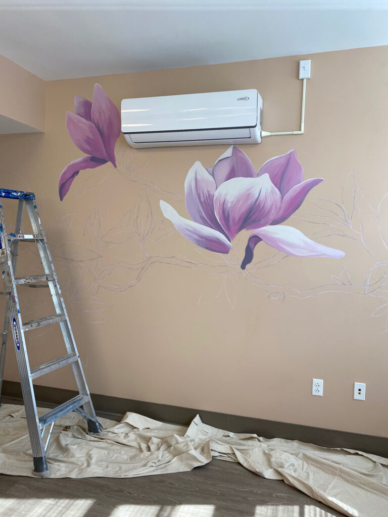 Starting to paint