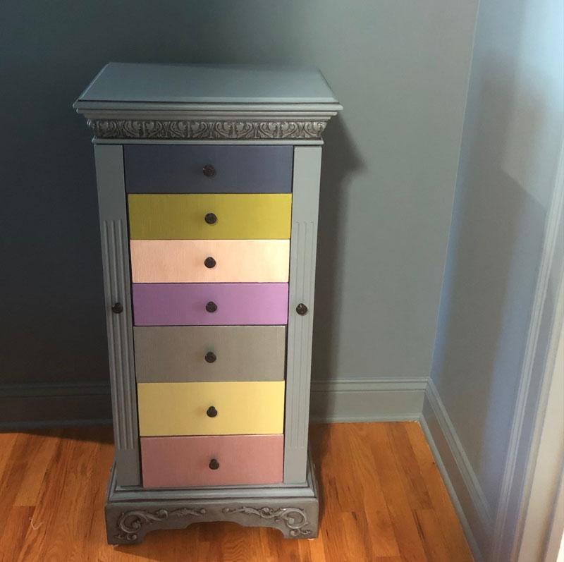 Jewelry box finished